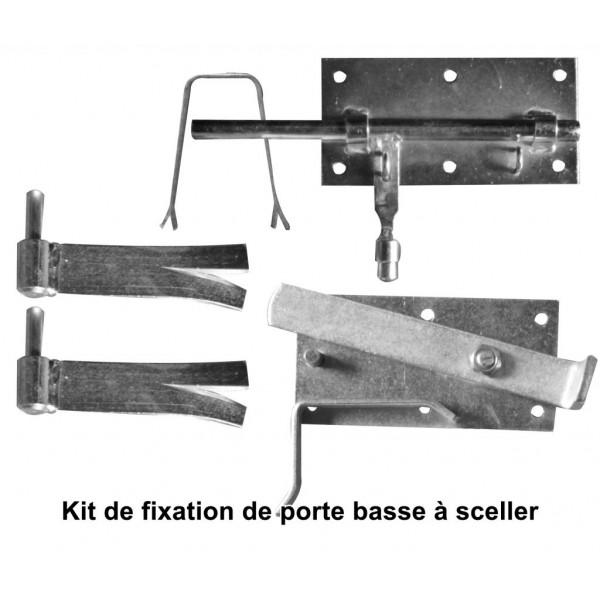EQUIPHORSE_KIT DE FIXATION + FERMETURE DE PORTES BASSES À SCELLER OU VISSER_1