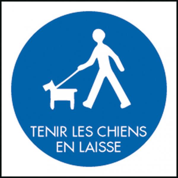 """EQUIPHORSE_PANNEAU """"TENIR LES CHIENS EN LAISSE""""_1"""