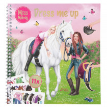 EQUIPHORSE_CAHIER DRESS ME UP MISS MELODY_1