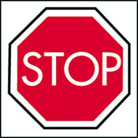 """PANNEAU """"STOP"""""""